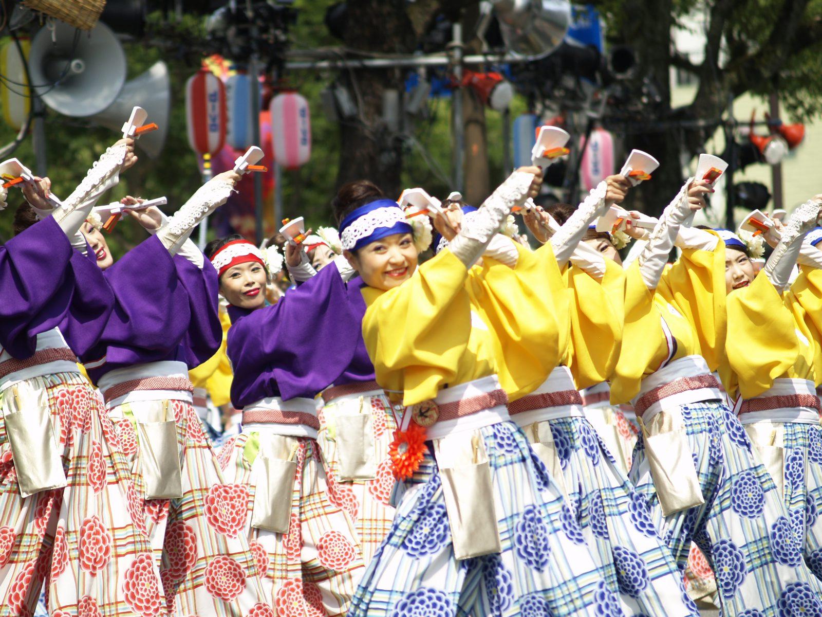 「第63回 よさこい祭り」が、8月9日開幕。海外6カ国が初参加