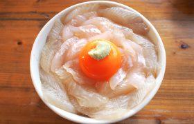 北三陸のレトロな食堂でいただく『平目漬丼』
